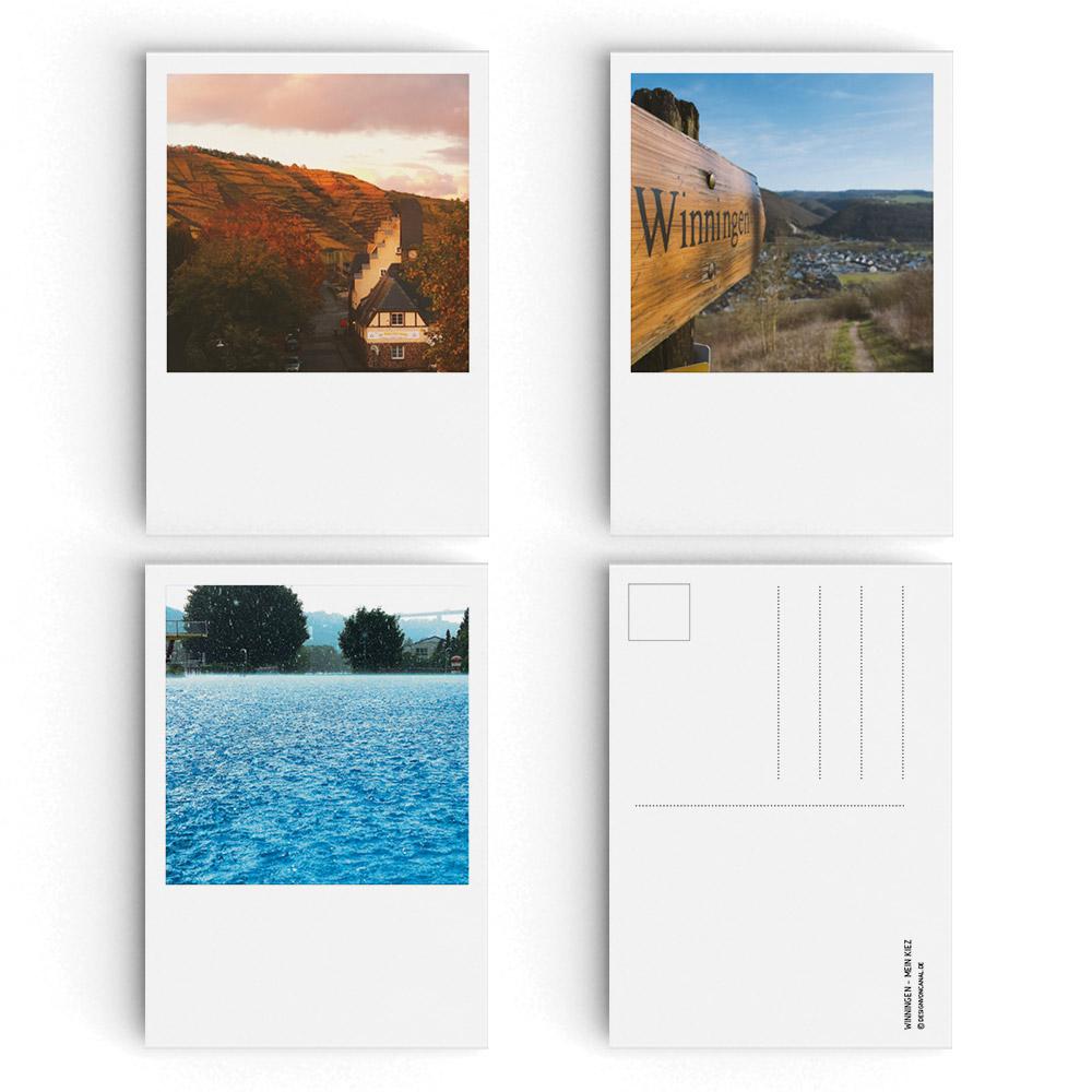 Postkarten Winningen – Mein Kiez