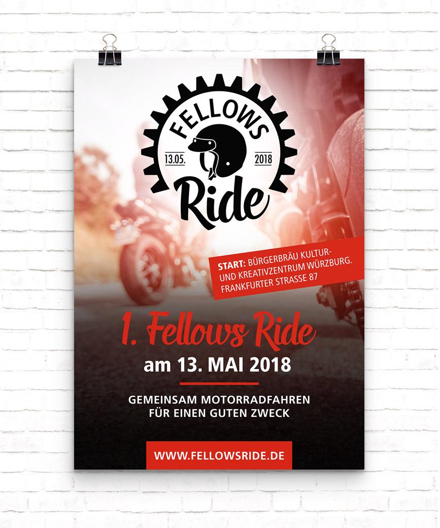 Plakat Fellows Ride